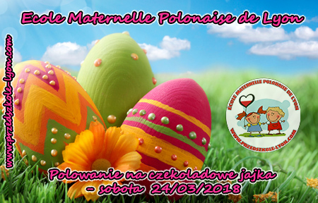 ecole maternelle polonaise chasse oeufs 2018